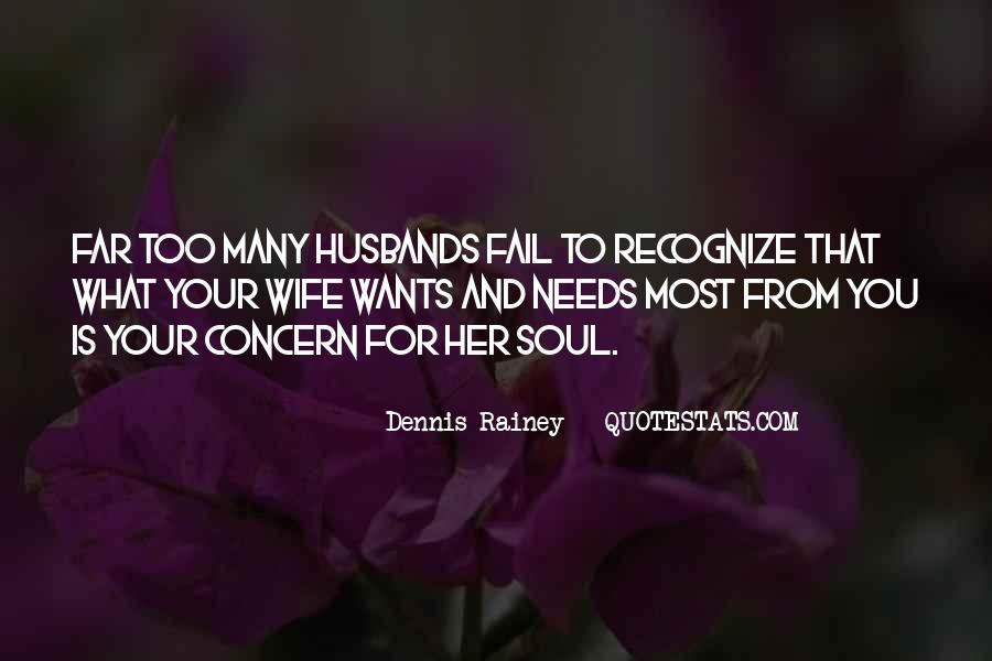 Quotes About Husbands And Wife #1585559