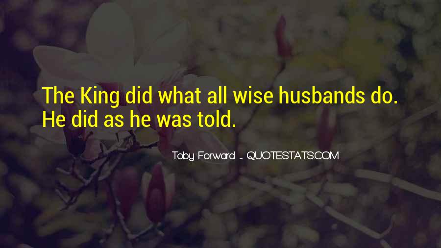 Quotes About Husbands And Wife #1804352
