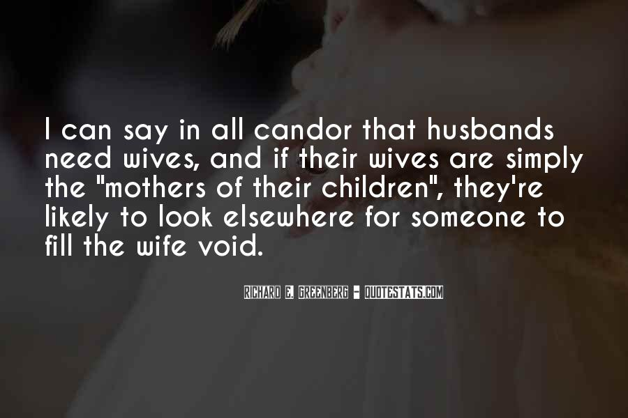 Quotes About Husbands And Wife #265613