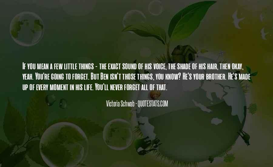 Every Little Things Quotes #170038