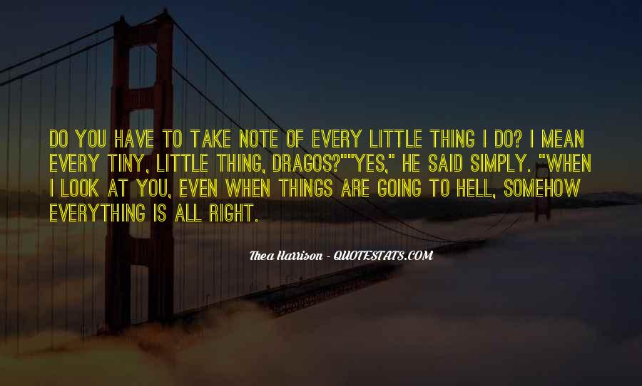 Every Little Things Quotes #906135