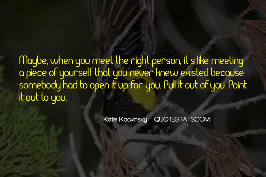 Every Person We Meet Quotes #276885
