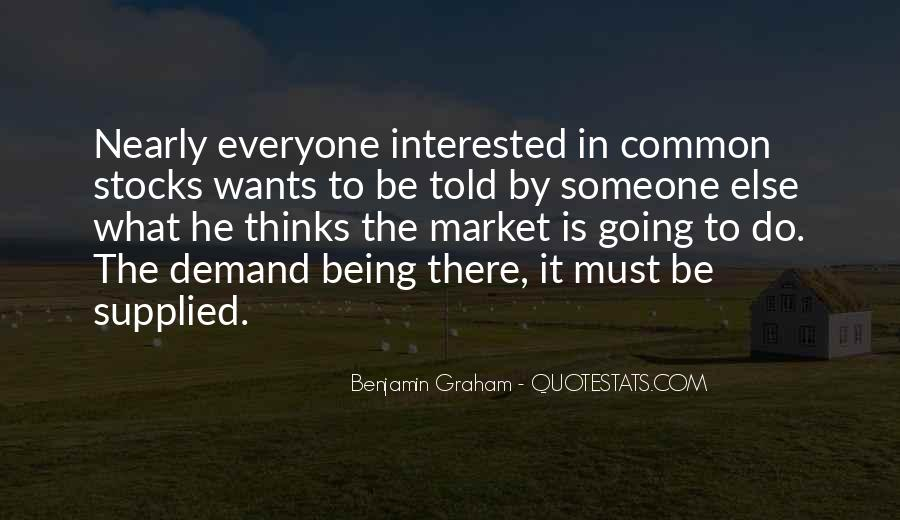 Everyone Wants Someone Quotes #1625179