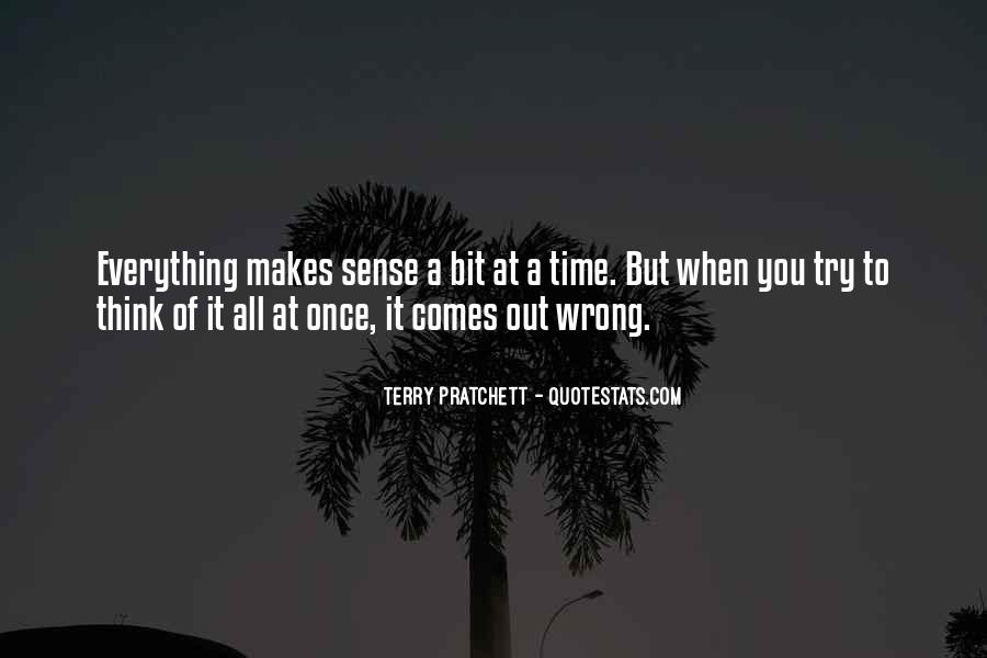 Everything Goes Wrong At Once Quotes #127459