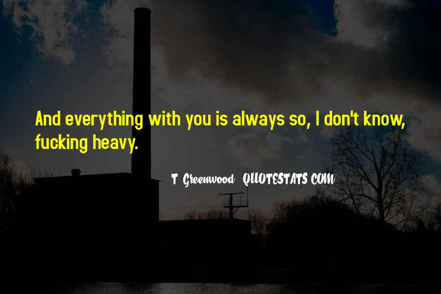 Everything I Know Quotes #52623