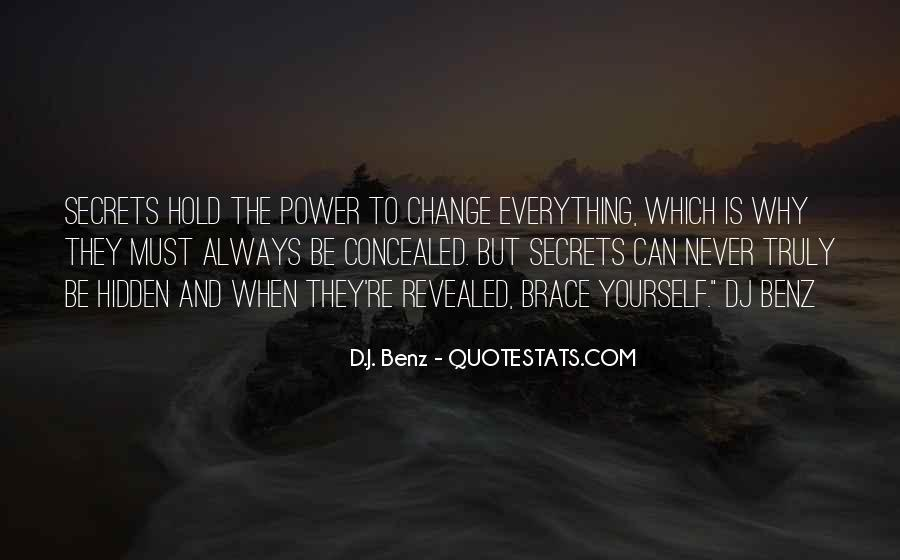 Everything Must Change Quotes #1009027