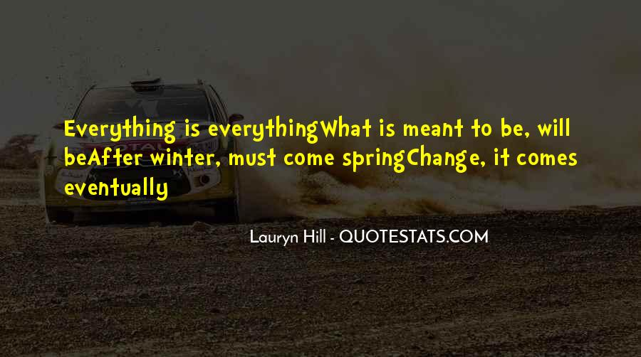 Everything Must Change Quotes #1110086
