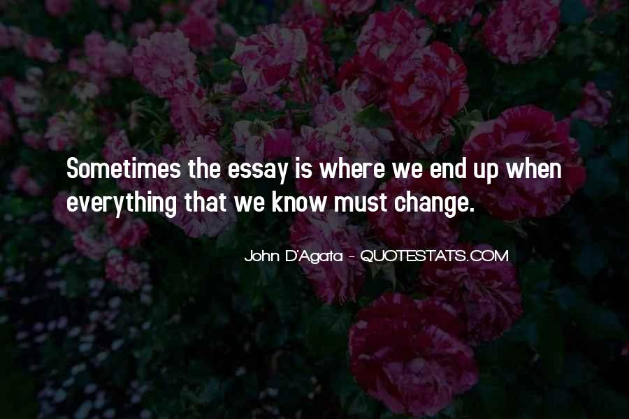 Everything Must Change Quotes #1598977