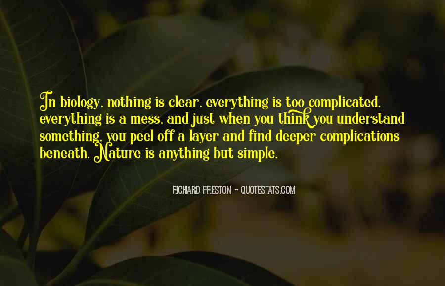 Everything's A Mess Quotes #1327064