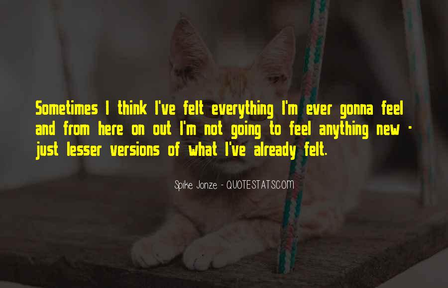 Everything's Gonna Be Okay Quotes #589334