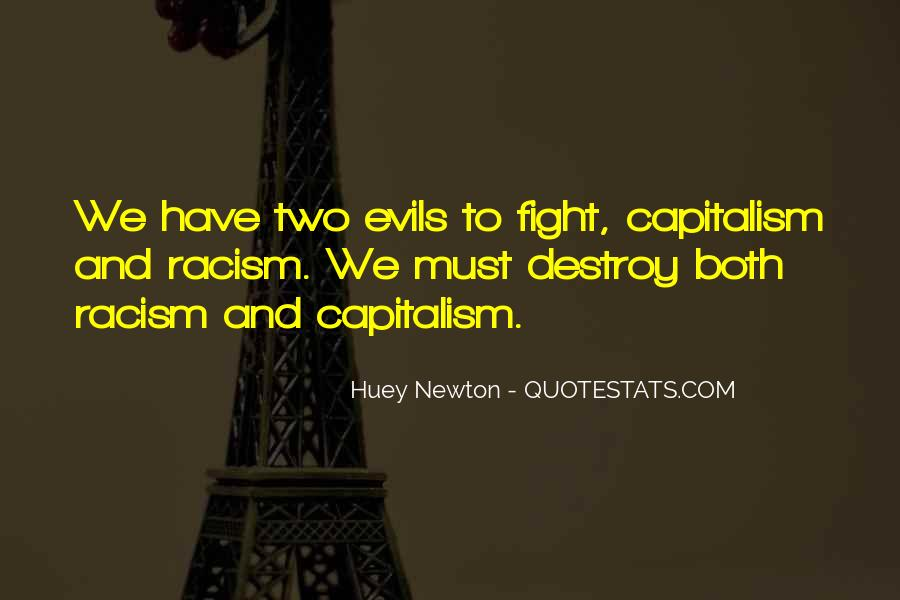 Evils Of Capitalism Quotes #1119963
