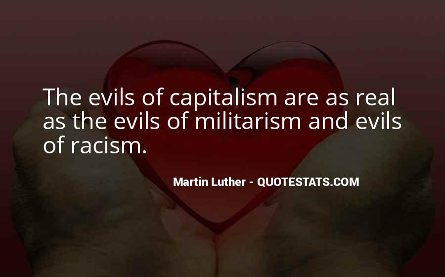 Evils Of Capitalism Quotes #945872