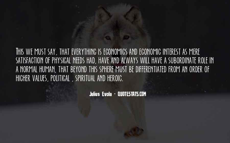 Evola Julius Quotes #777480