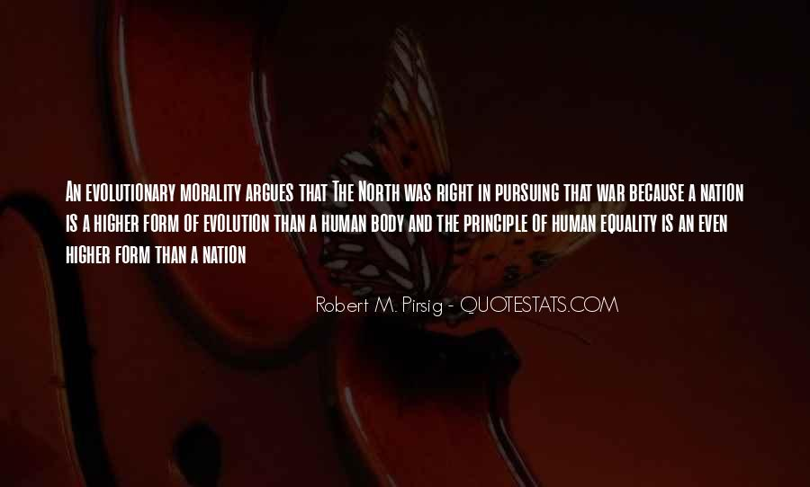 Evolution And Morality Quotes #1618974