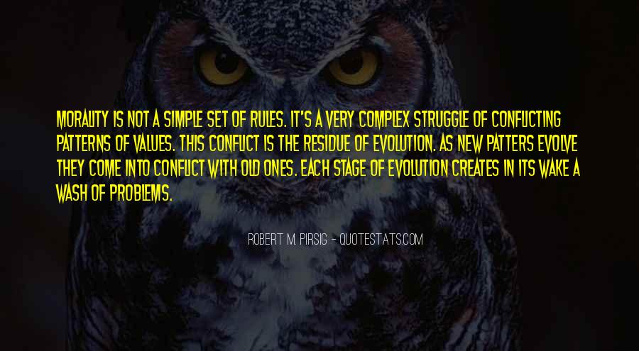 Evolution And Morality Quotes #1823861