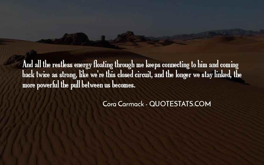 Ex Keeps Coming Back Quotes #303407