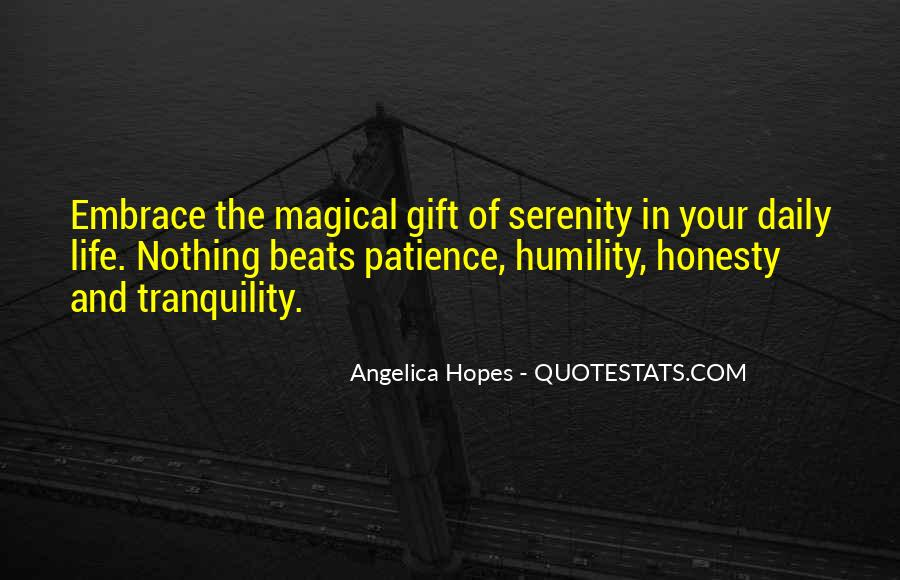 Quotes About Humility And Patience #1090910