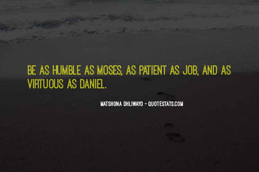Quotes About Humility And Patience #1406342