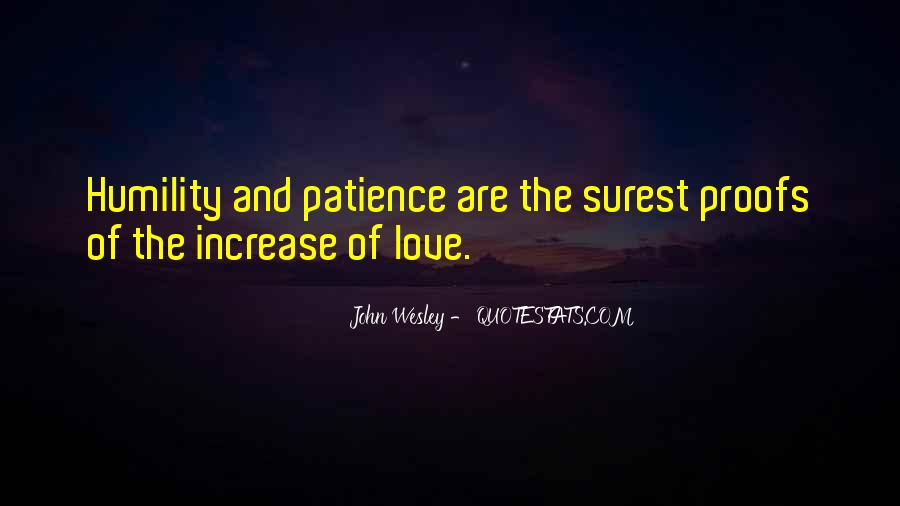 Quotes About Humility And Patience #1469112