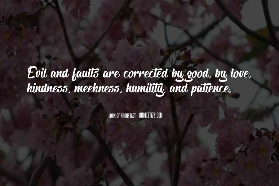 Quotes About Humility And Patience #978495