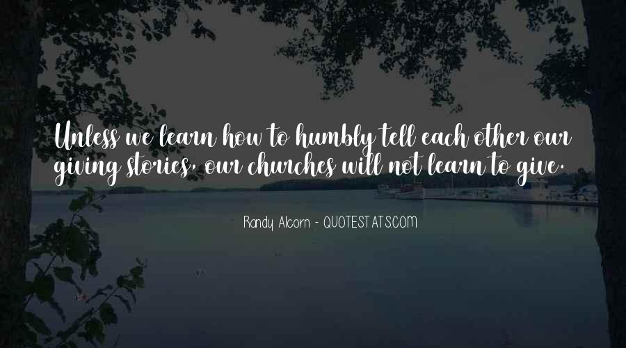 Quotes About Humbly #211095