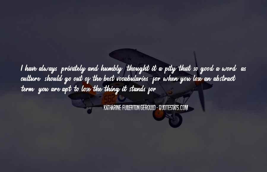Quotes About Humbly #303727