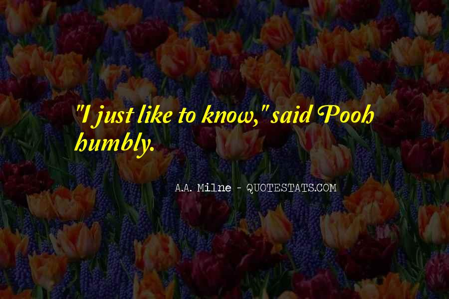 Quotes About Humbly #31578