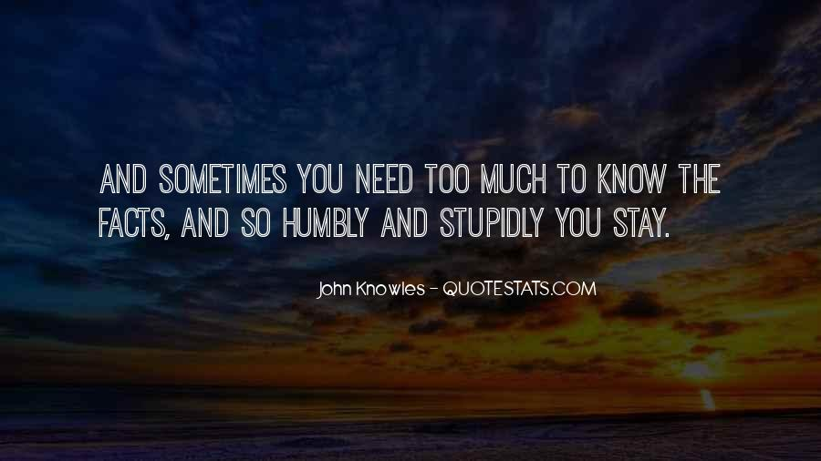 Quotes About Humbly #503173