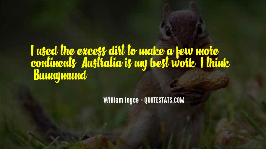Excess Work Quotes #912225