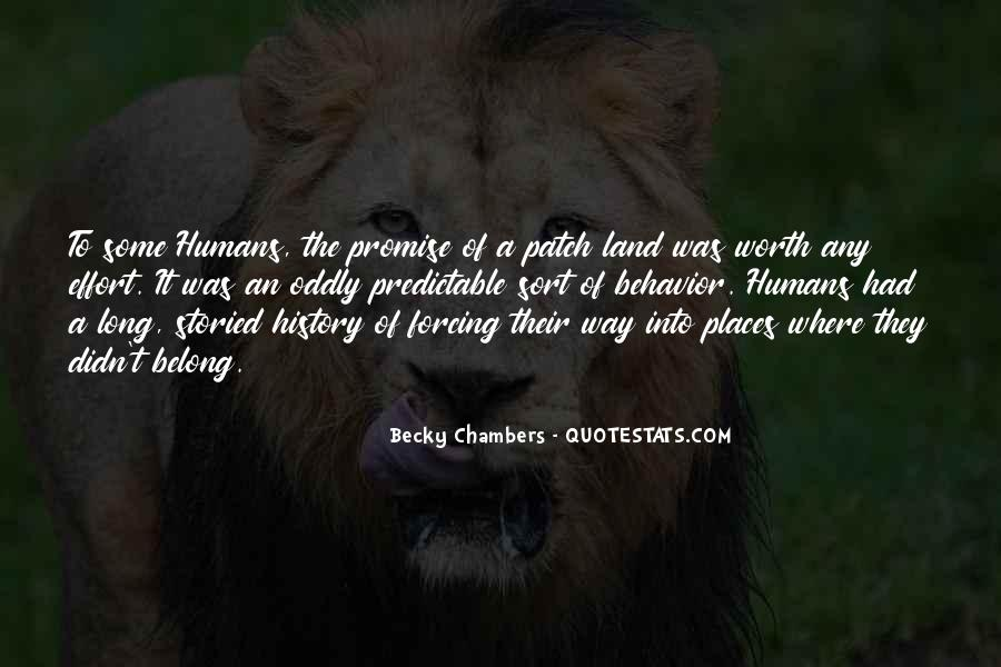 Quotes About Humans Nature #124880
