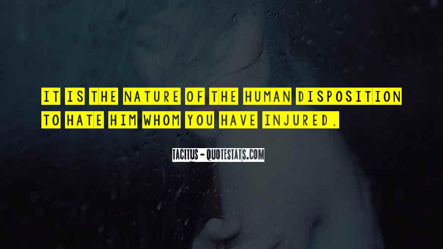 Quotes About Humans Nature #12709