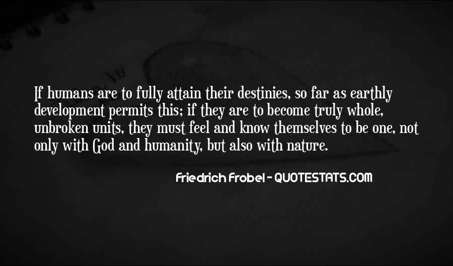 Quotes About Humans Nature #127642