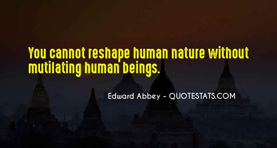 Quotes About Humans Nature #15841