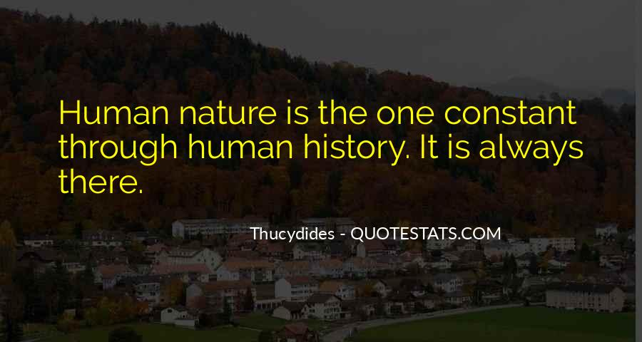Quotes About Humans Nature #315635