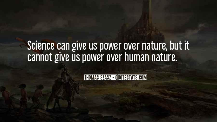 Quotes About Humans Nature #329558