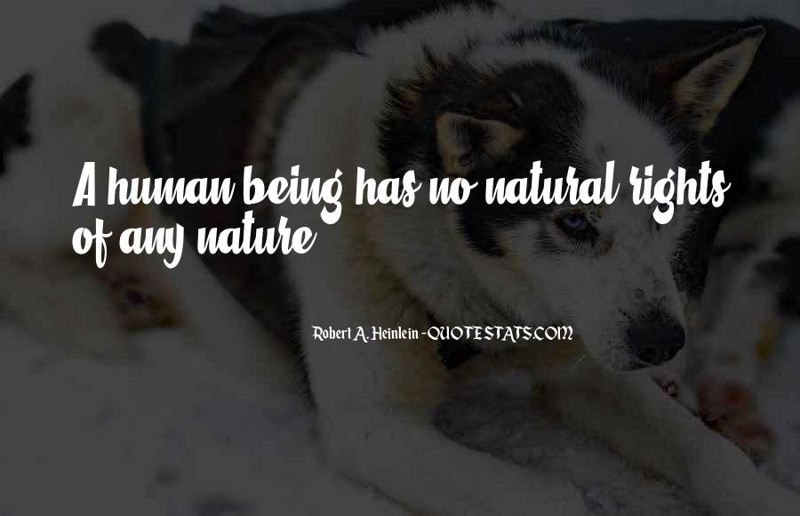 Quotes About Humans Nature #460948