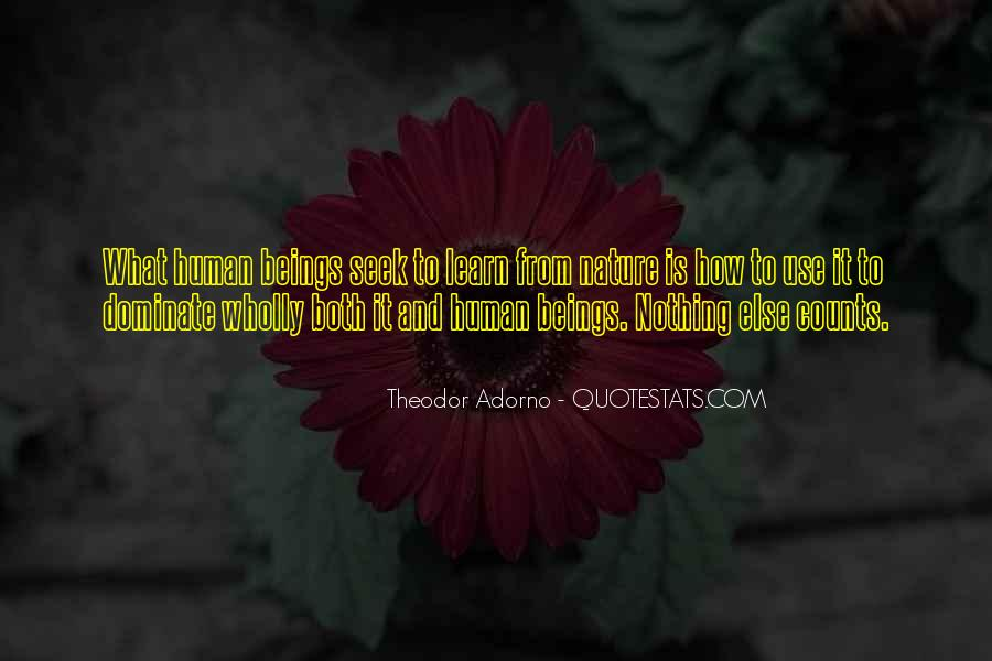 Quotes About Humans Nature #491669