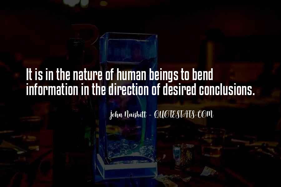 Quotes About Humans Nature #521758