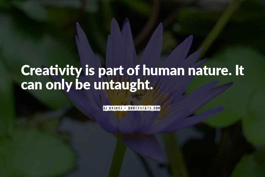 Quotes About Humans Nature #546466