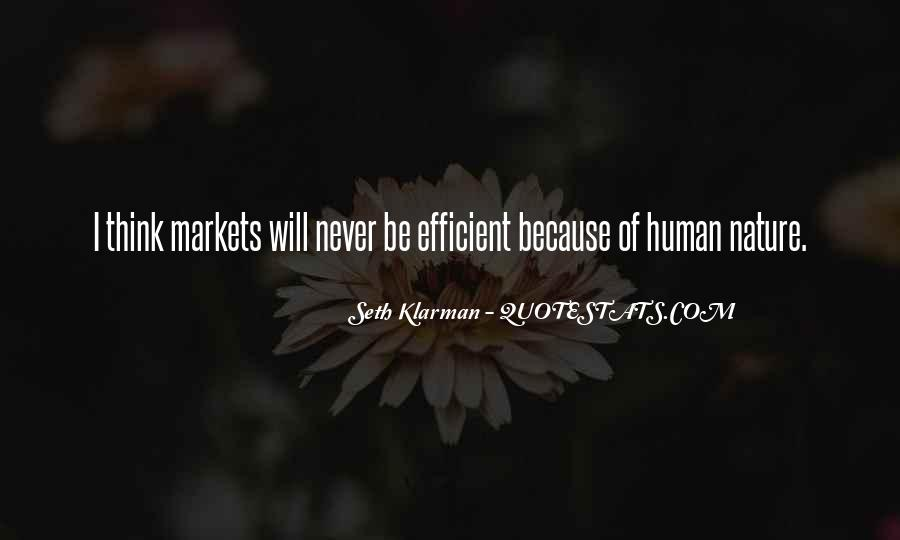 Quotes About Humans Nature #551014