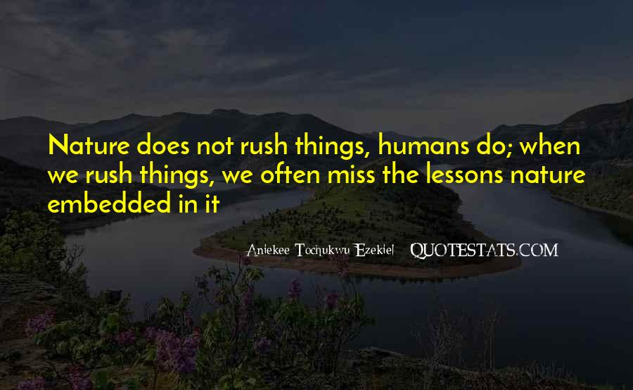 Quotes About Humans Nature #604283
