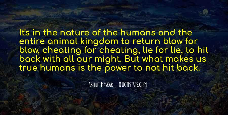 Quotes About Humans Nature #635953