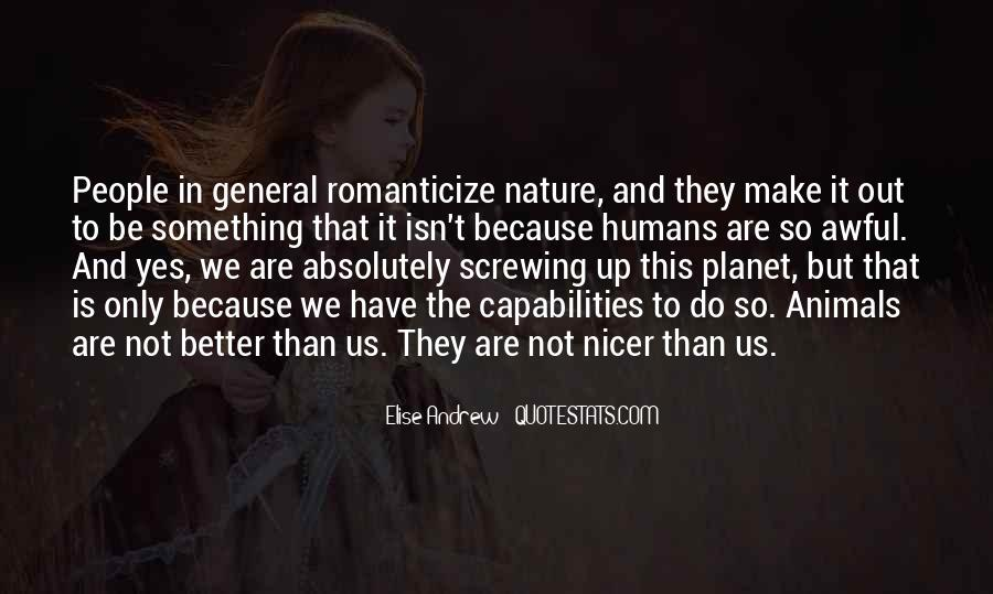 Quotes About Humans Nature #80928