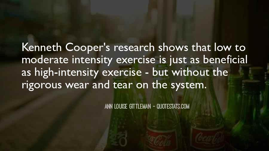 Exercise Intensity Quotes #1690552