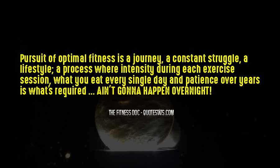 Exercise Intensity Quotes #221125