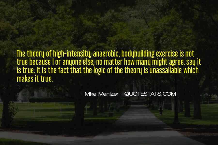 Exercise Intensity Quotes #931925