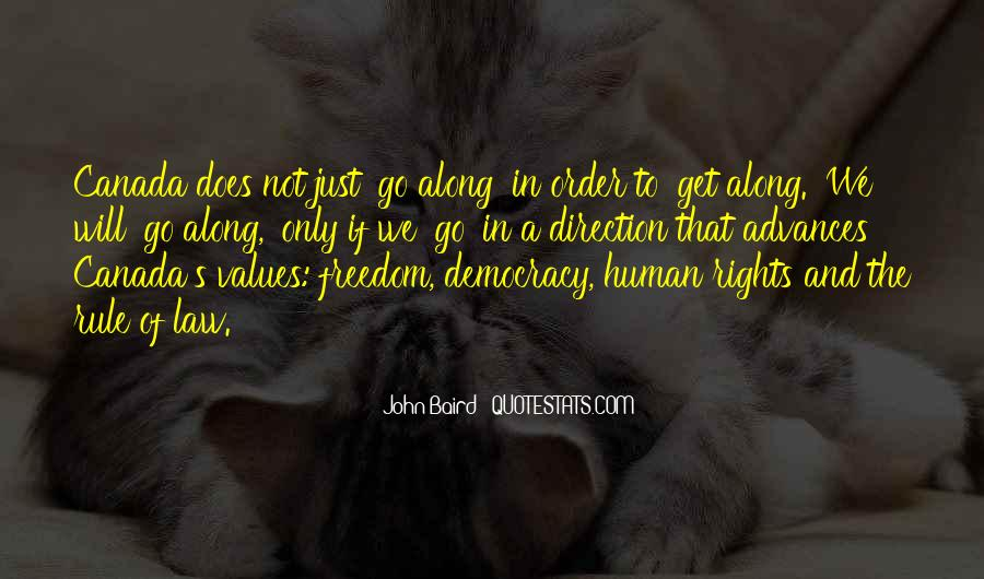 Quotes About Human Values And Rights #1612957
