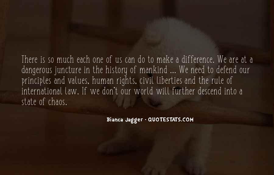 Quotes About Human Values And Rights #1670548