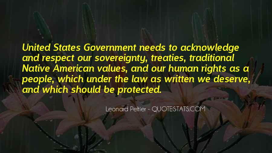 Quotes About Human Values And Rights #551131
