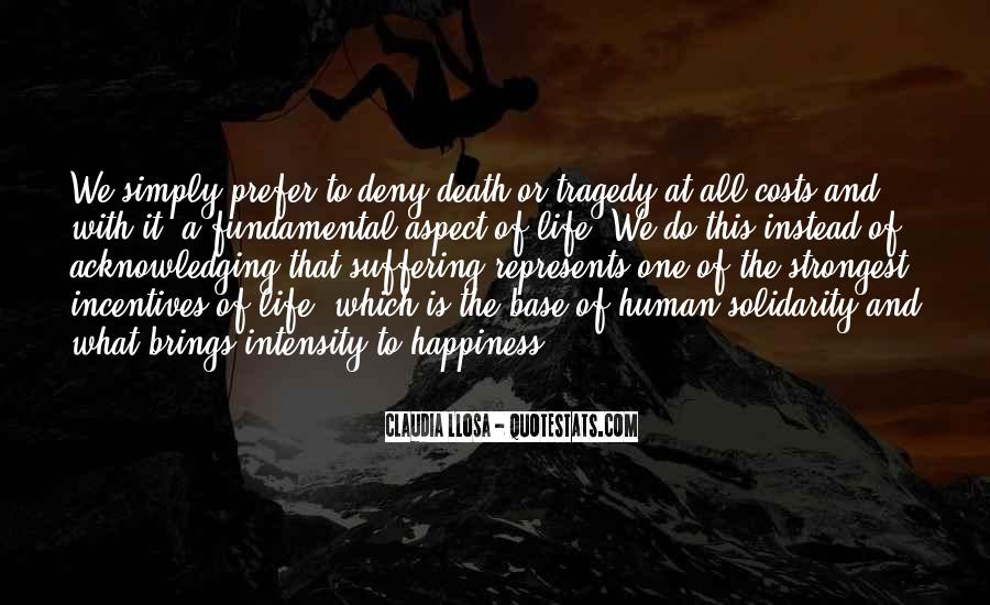 Quotes About Human Solidarity #1086895